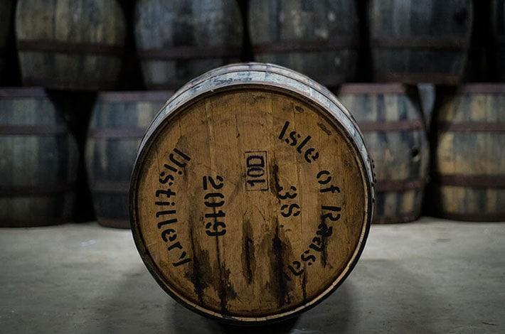 Ex-Bourbon Raasay Distillery Cask