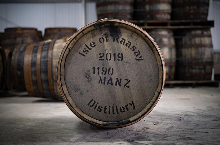 Ex-Manzanilla Raasay Distillery Cask