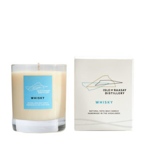 Whisky Scented Natural Soya Wax Candle