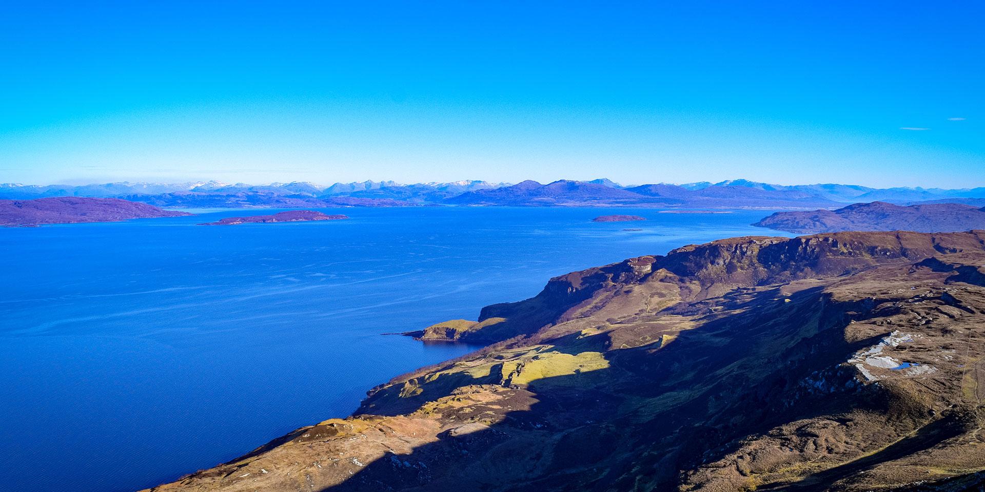 View from Dun Caan, Isle of Skye