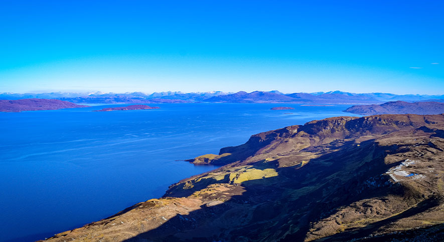 The Best Views of Skye are from Raasay!