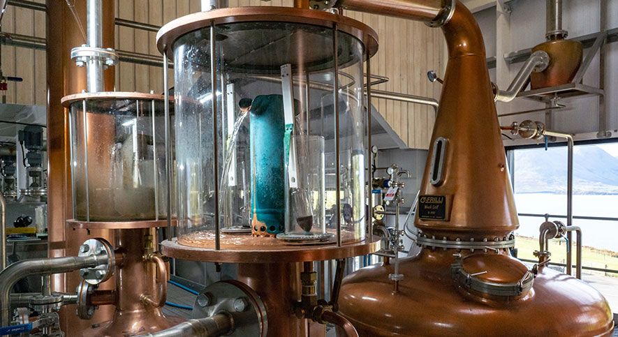Isle of Raasay Distillery Production