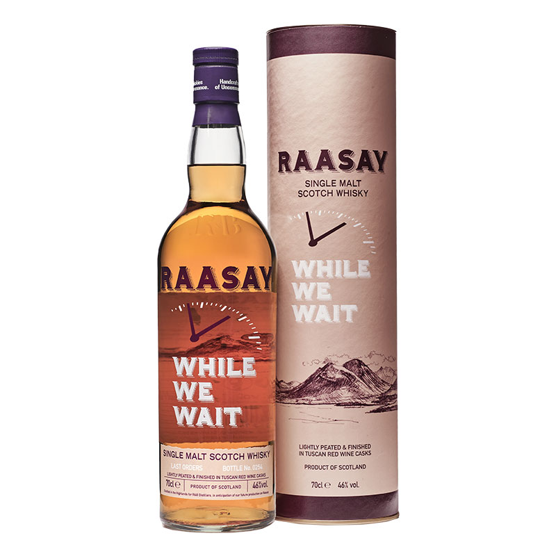 Raasay While We Wait - Last Orders (70cl)