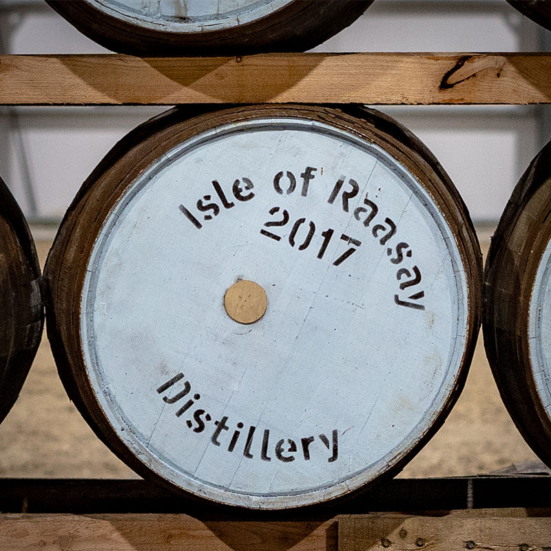 The '45 Cask Offering from Raasay Distillery