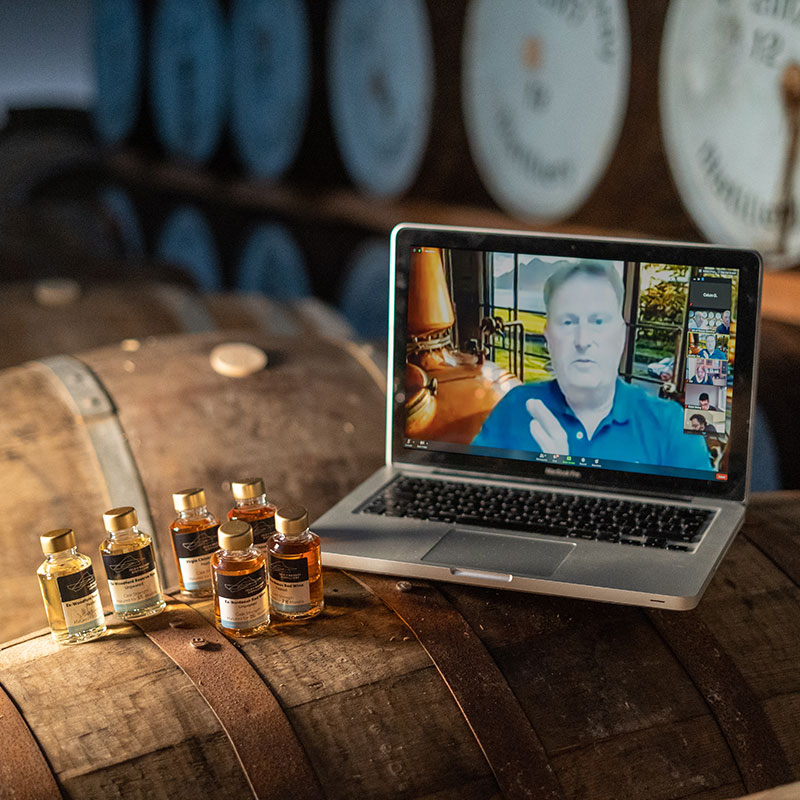 Virtual Isle of Raasay Whisky Tasting Samples