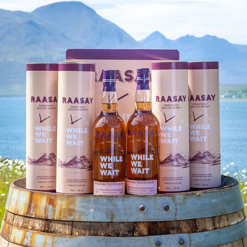 Raasay While We Wait – Last Orders 6 x 70cl (case)