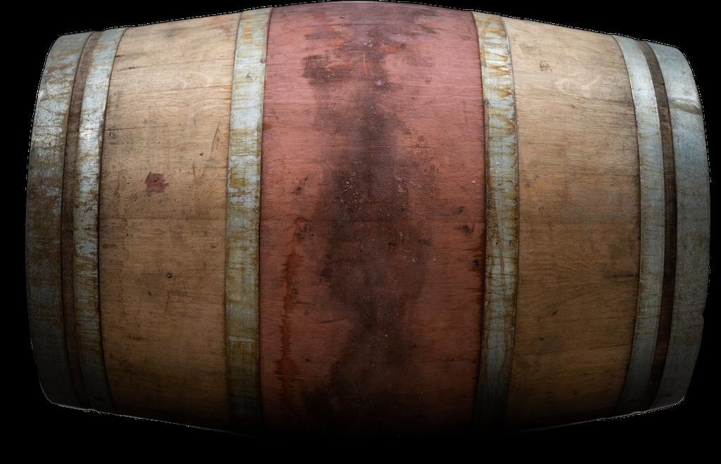 Ex-Bordeaux Red Wine Cask Side Profile