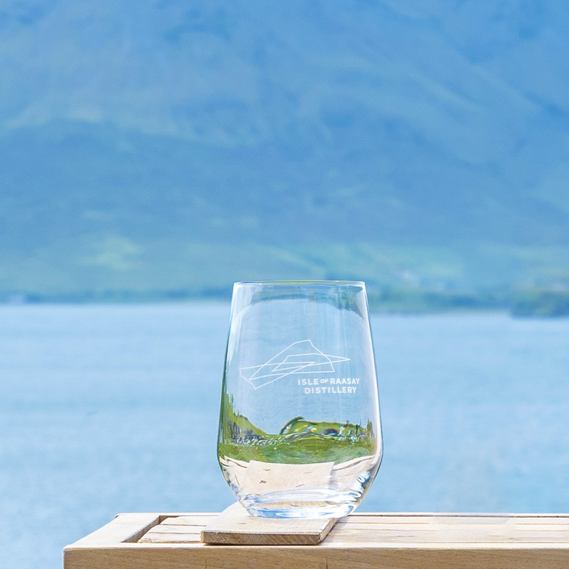 Isle of Raasay Gin Glass