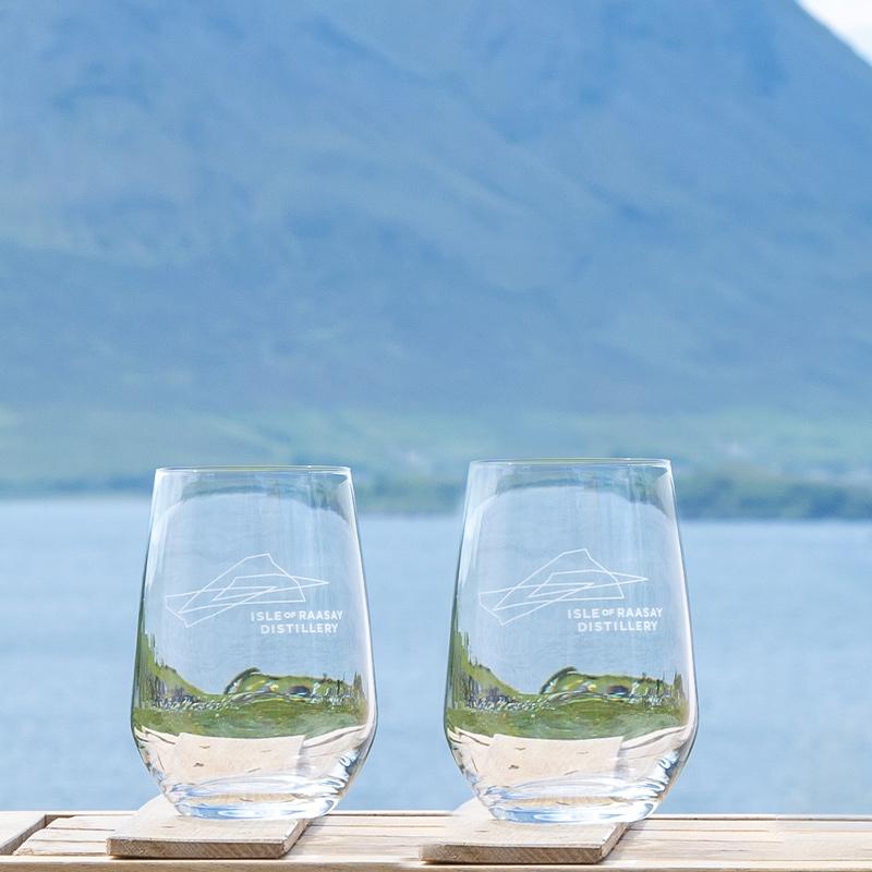 Isle of Raasay Gin Glass Set