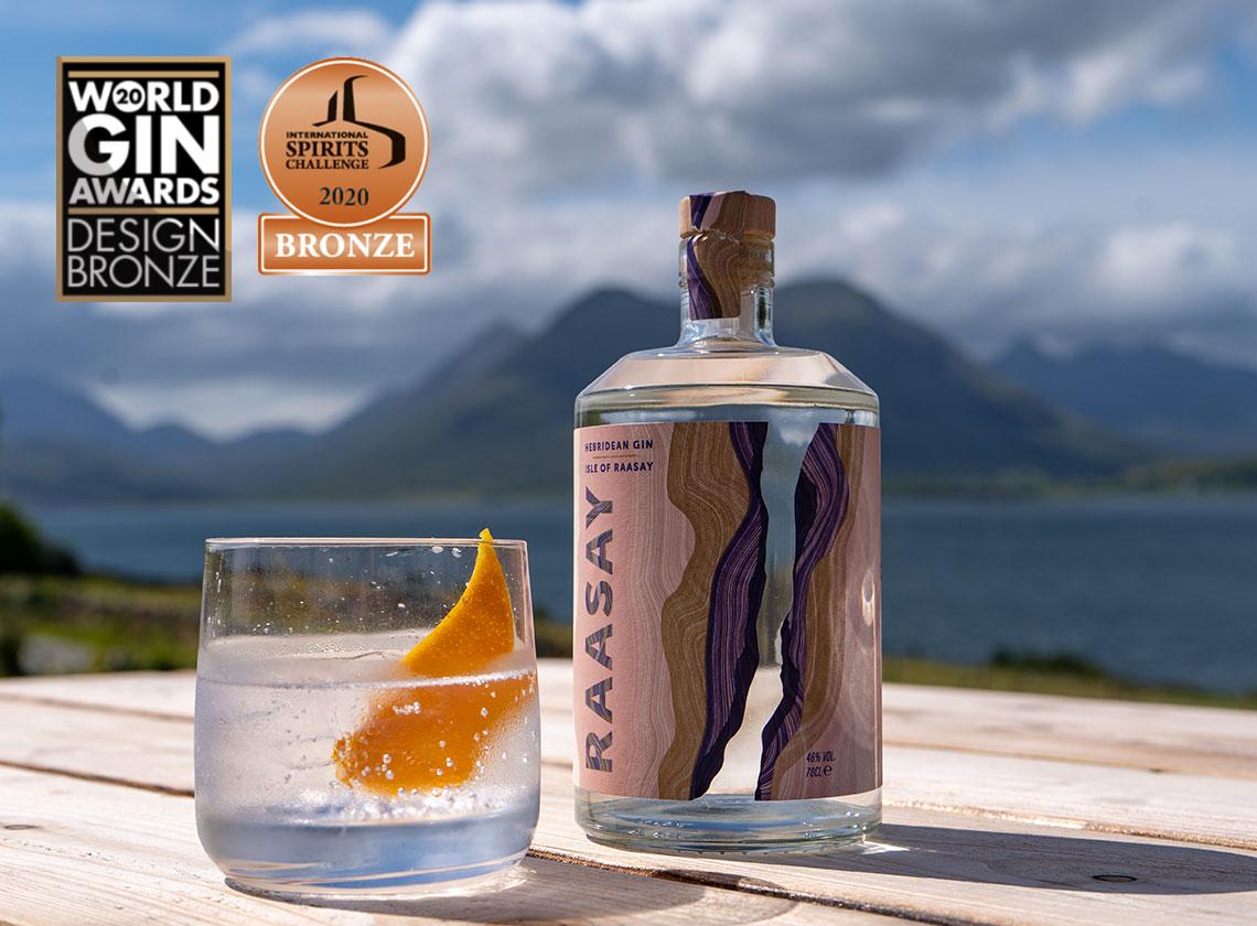 Isle of Raasay Gin Serve