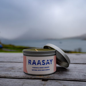 Raasay Gin Soya Candle