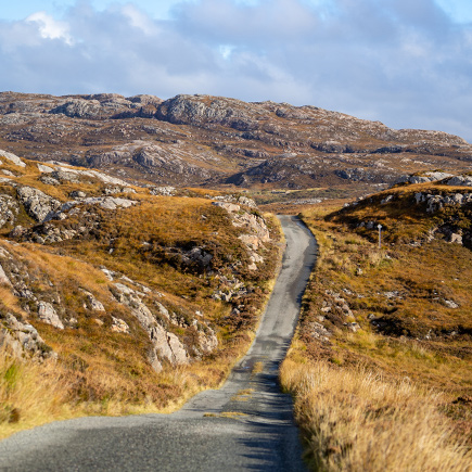 View of Calum's Road Looking to North of Raasay