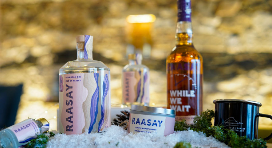 Christmas Shopping at Raasay Distillery