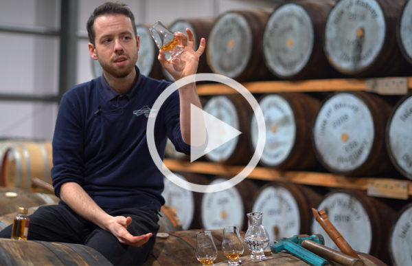 Tasting Whisky with a Glencairn Glass