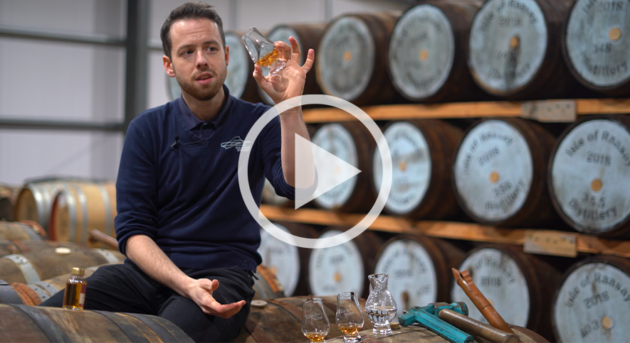 Tasting Whisky with a Glencairn Glass