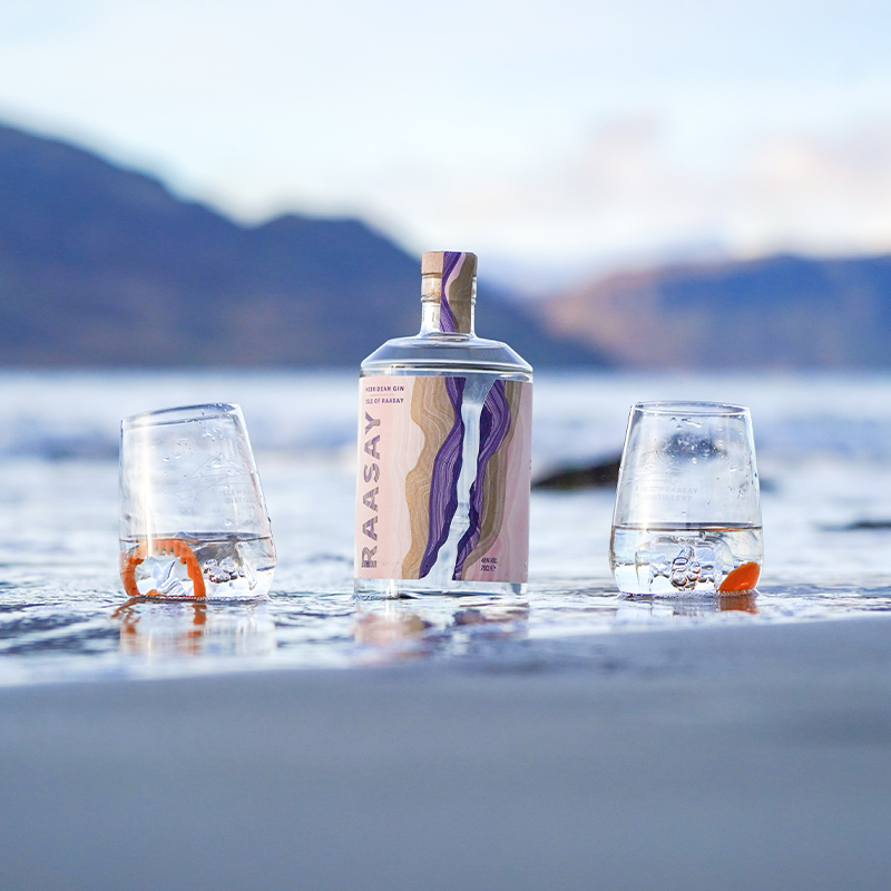 Isle of Raasay Gin Mother's Day Gift Pack