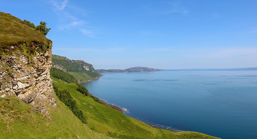 Isle of Rona from Isle of Raasay