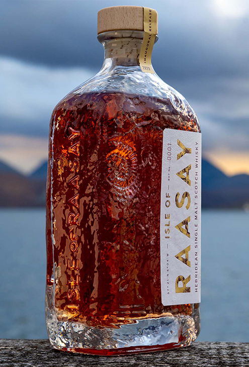 Isle of Raasay Single Malt Bottle