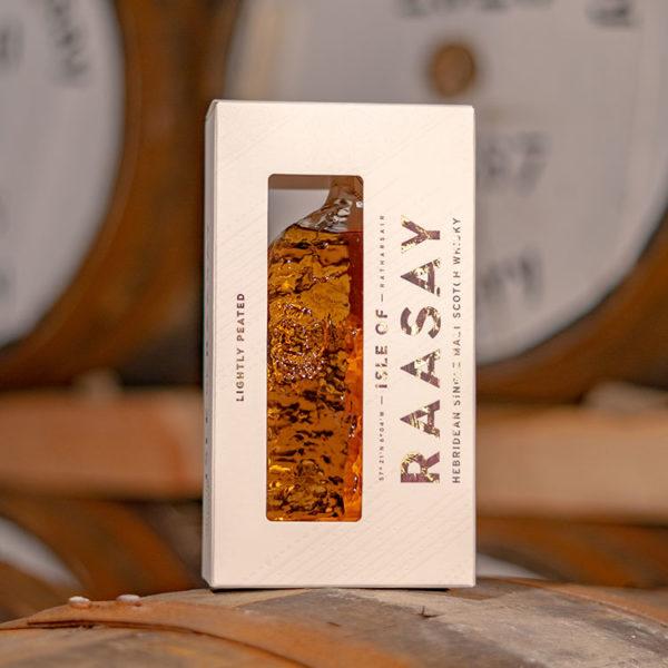 Isle of Raasay Single Malt Packaging