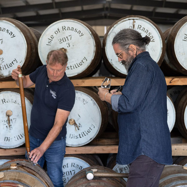 Isle of Raasay Single Malt Launch Alasdair Day & Dave Broom