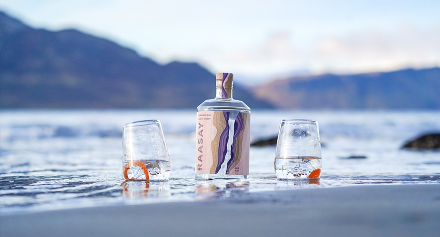 Isle of Raasay Gin Perfect Serve