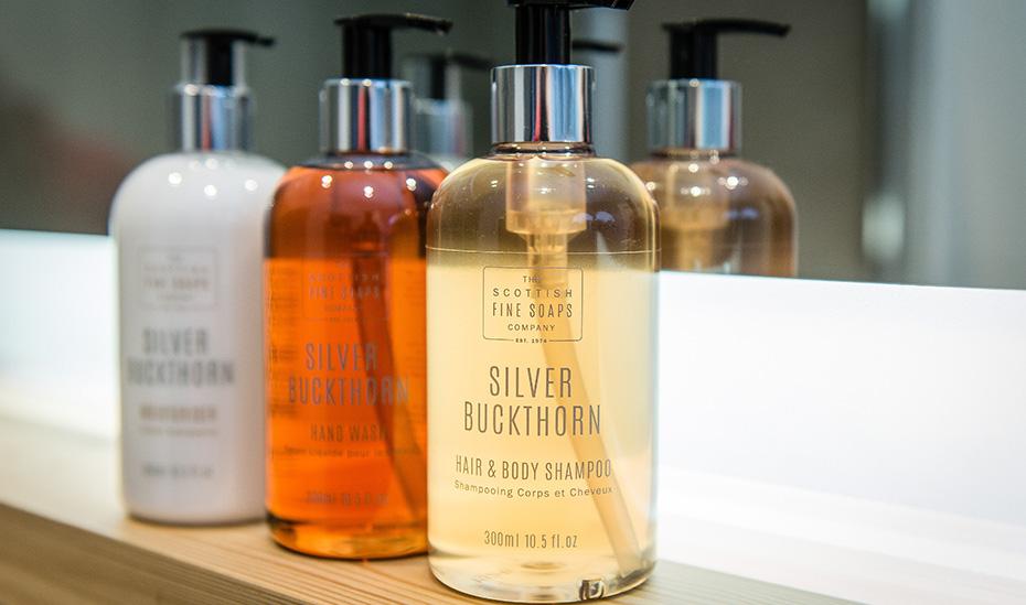 Raasay Distillery Luxury Bathroom Amenities