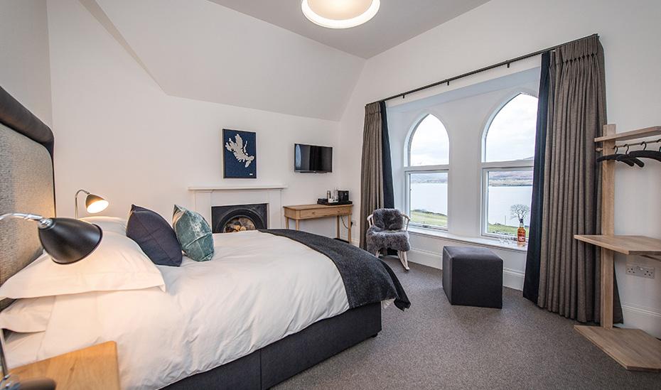 Raasay Distillery Luxury Double Bedroom