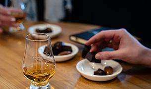 Whisky, Gin & Chocolate Tour & Tasting at Raasay Distillery