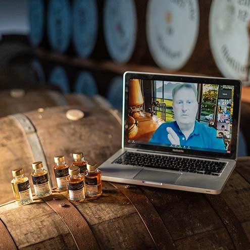 Isle of Raasay Distillery Virtual Whisky Tastings