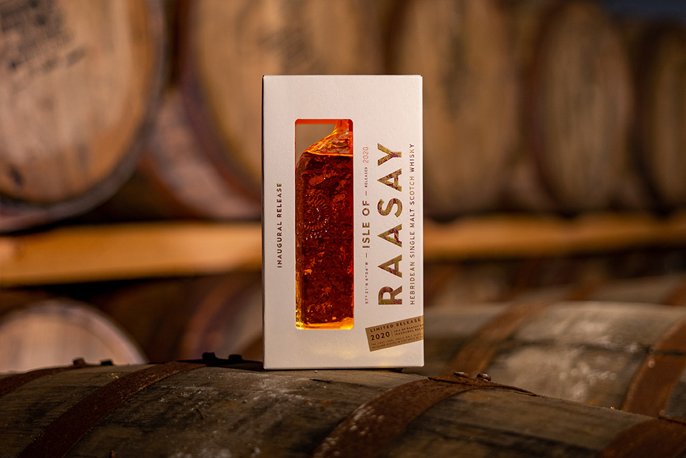 Isle of Raasay Single Malt Inaugural Release