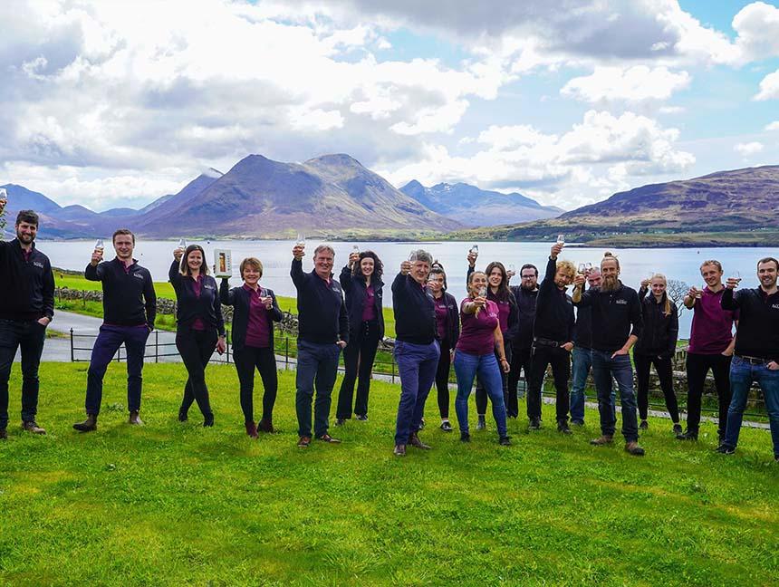 Isle of Raasay Distillery Team