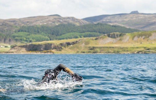 James Armour Swims to Raasay