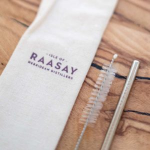 Isle of Raasay Distillery Metal Straw Set