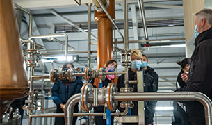 Isle of Raasay Distillery Production Tour